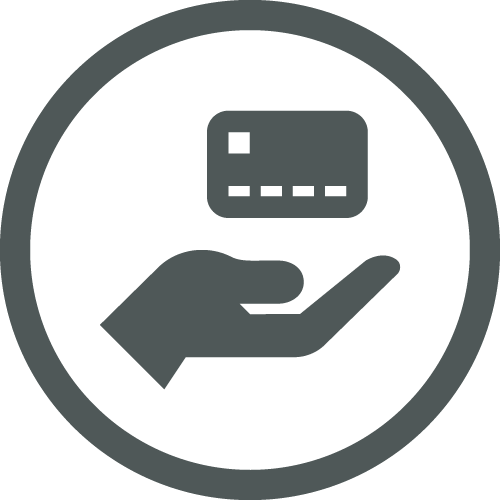 Icon for Industry Integrated Credit, Debit & FSA