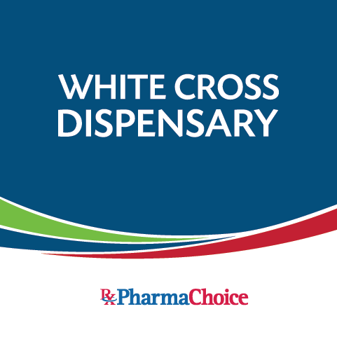 White Cross Dispensary Logo